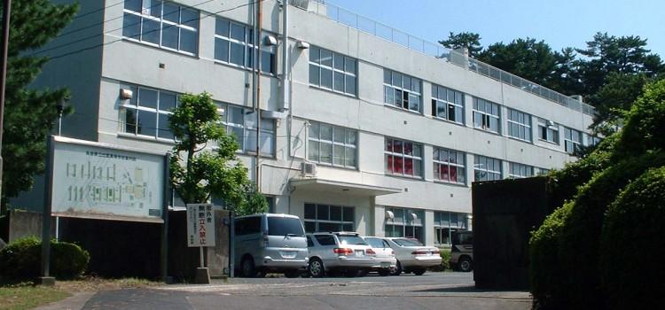 校舎改築前の風景(平成15年工事着手前)