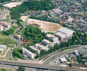 新校舎竣工(平成18年6月)