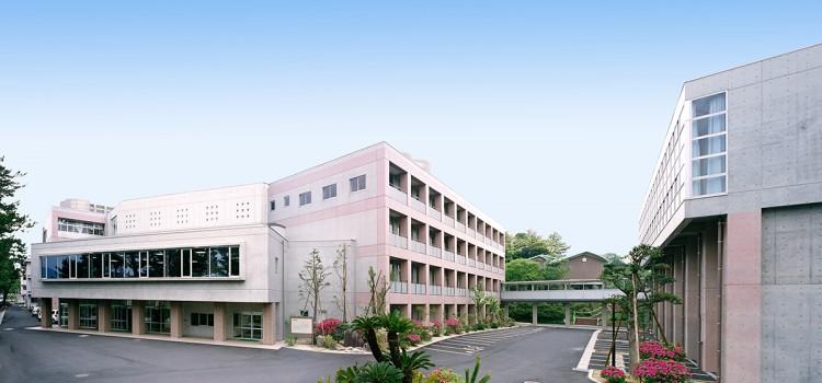 新校舎竣工後の風景(平成18年工事完工後)