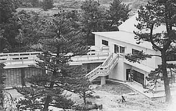 昭和37年新築の体育館